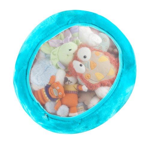 Boon Stuffed Animal Storage Bag, Blue