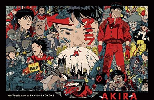 28cm x 43cm AKIRA Poster Popular Poster Anime Japonés 11x17 Inches