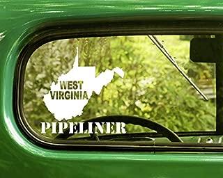 west virginia pipeliner stickers