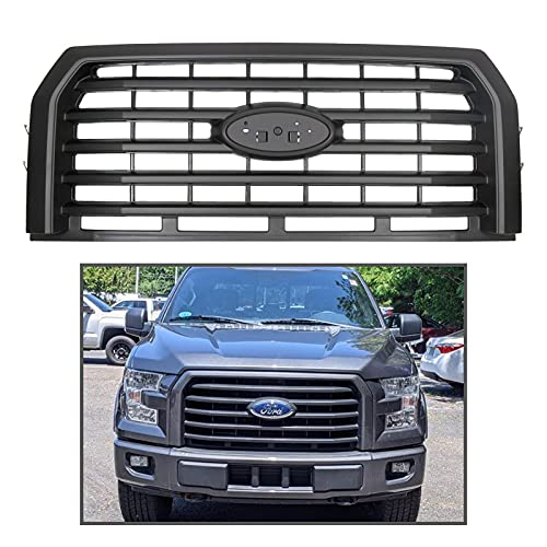 LAFORMO Front Hood Bumper Grille Grill Horizontal Style Compatible with 2015...