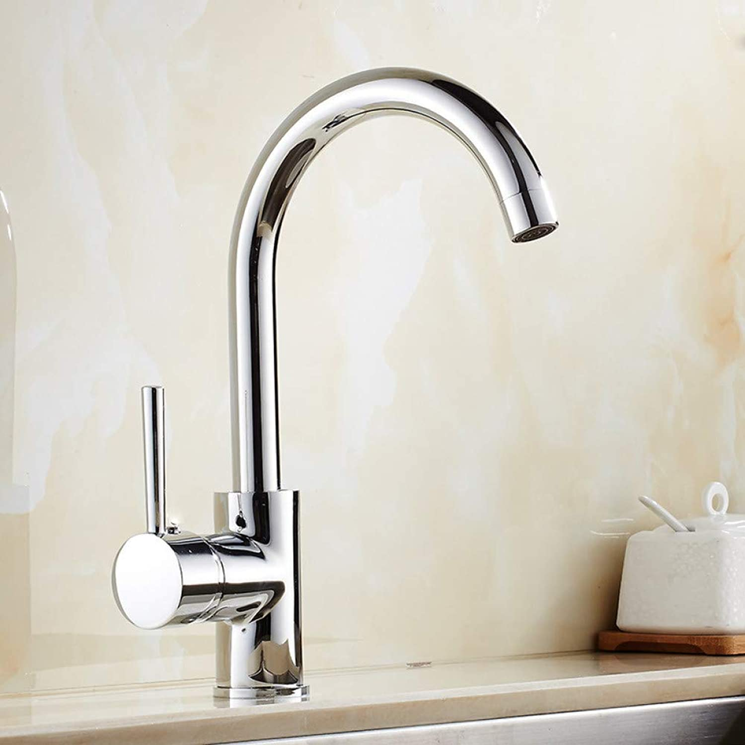 YHSGY Kitchen Taps Copper Electroplating Kitchen Faucet redatable Sink Sink Elbow Faucet