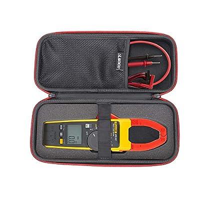 RLSOCO Carrying Case for Fluke 376 FC/Fluke 376/375/374/373/Fluke 902/Fluke 902 FC True-RMS Clamp Meter