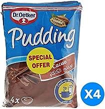 Dr. Oetker Original Pudding Cacao  125 gm - Pack of 4