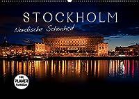 Stockholm - Nordische Schoenheit (Wandkalender 2022 DIN A2 quer): Die Stadt der Inseln (Geburtstagskalender, 14 Seiten )