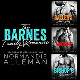 The Barnes Family Romances cover art