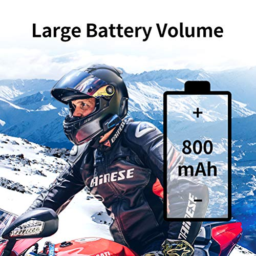 LEXIN B4FM Motorradhelm Intercom, Bluetooth Motorrad Headset Windgeräuschreduzierung, Bluetooth-Kommunikationssystem für Motorräder - 7