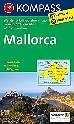 Mallorca: Wander-, Rad-, Freizeit- und Straßenkarte