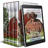 Cowboy Billionaire Boxed Set: Whiskey Mountain Lodge (Four Sweet Cowboy Billionaire Novels Book 2)