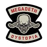 C&D Visionary Megadeth Dystopia Sticker, Multi-Colored