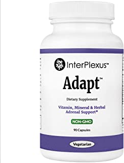 Adapt - Vitamin, Mineral, & Herbal Adrenal Support - Gluten Free - 90 capsules