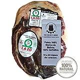 2.2 Kg Pata Negra 100% Iberico Schinken BELLOTA ohne Knochen - Von mit Eicheln gefütterten Iberico-Schweinen und 100% natürlich gereift - Ein wirklich unvergessliches Erlebnis - Jamon...