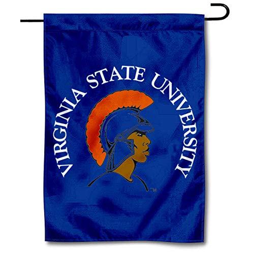 Virginia State Trojans VSU Garden Flag and Yard Banner