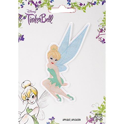 Simplicity Disney, diseño de Campanilla, poliéster, Multicolor, 10,34x 14.22X 0,2cm