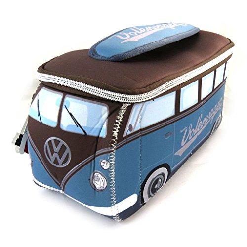 Volkswagen [N4533] - Trousse de Toilette 'Volkswagen' Bleu Marron - 29x13x10 cm