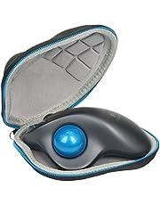 Logitech M570için Trackball bilgisayar Long Range kablosuz fare Hard Case taşınabilir Baval çanta