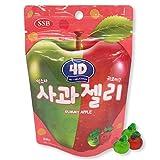 韓国の人気グミ 4Dグミリンゴ 56gX4個