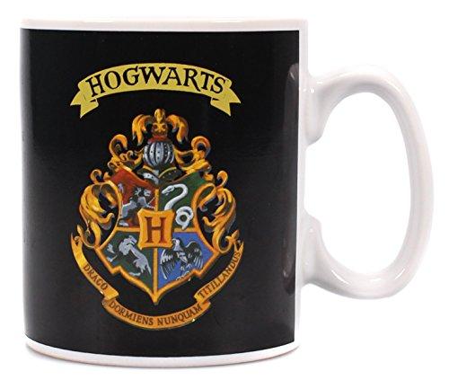 Harry Potter Heat Change Mug Hogwarts Crest Half Moon Calici Tazze