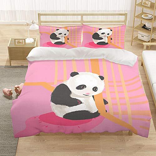 3D Bettwäsche Bettbezug Tagesdecke Kissenbezug Panda 230x220cm Heimdekoration Kinder, ältere Menschen, Fre&e & Gegenstände