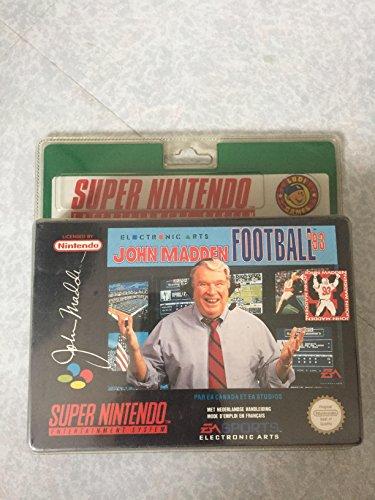 John Madden Football 93 - Super Nintendo - PAL.