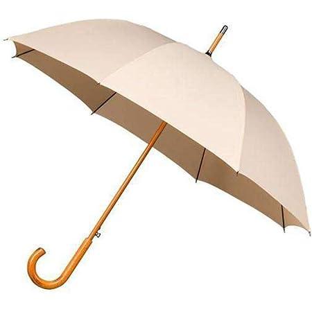 Poign/ée en bois courb/é Parapluie long classique coupe-vent de haute qualit/é Ouverture automatique pour permettre lutilisation dune seule main Tissu Premium /écossais Bolero Parapluie