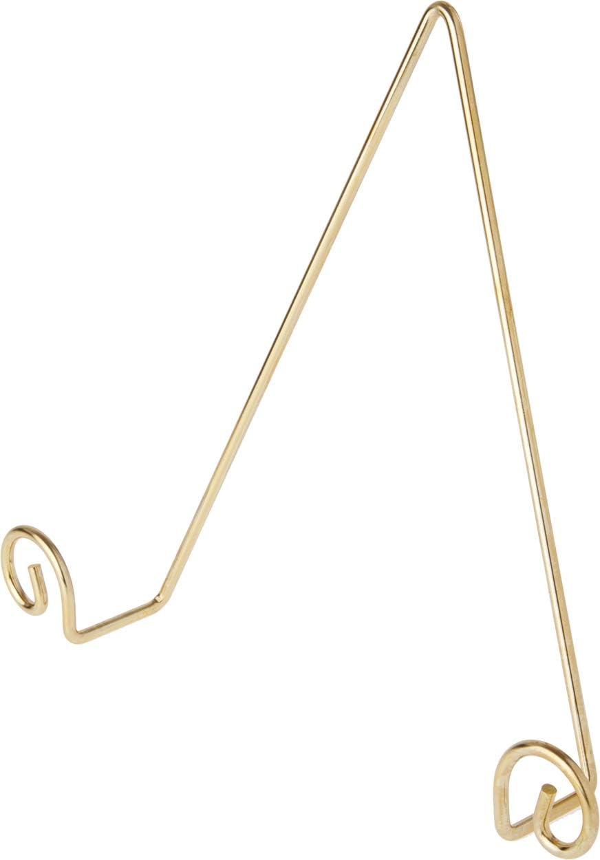 Bard's Shiny Gold-Toned Wall Mountable Plate Max Arlington Mall 54% OFF H Hanger 10. 10