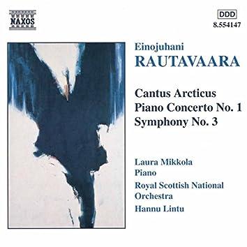Rautavaara: Cantus Arcticus / Piano Concerto No. 1 / Symphony No. 3