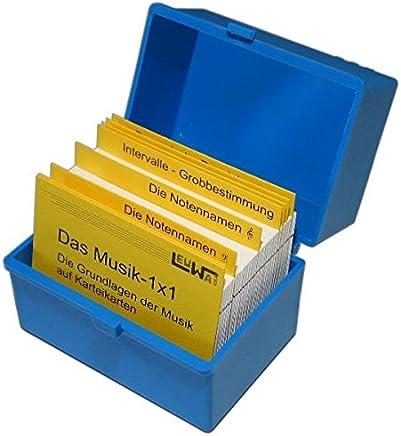 Das usik1x1 Lernkartei Noten lernen so einfach wie Vokabeln Noten Lernen einfach it Karteikarten Die Grundlagen der usik auf LernkartenMartin Leuchtner,Bruno Waizmann