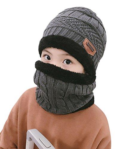 Winter Beanie Scarf for Boys Gir...