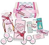 STEINBECK Mama Geschenk Muttertag Geschenkbox von Herzen Alles Liebe Geburtstag Präsentkorb Geschenkkorb Schokolade Fruchtgummi süß Mitgebsel Geschenkset beste Mami