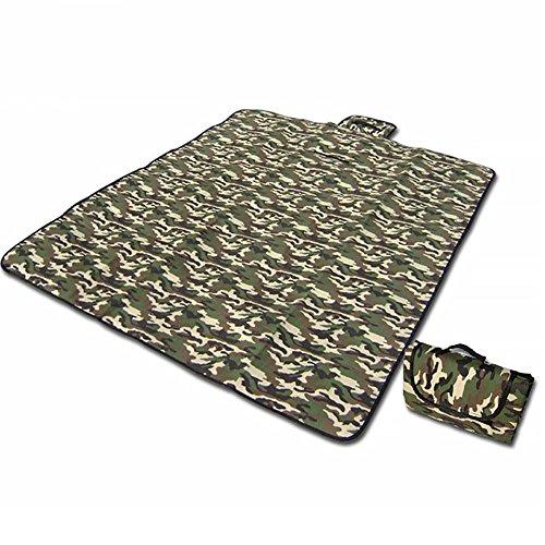 UxradG Telo impermeabile multiuso–ultraleggero all' aperto campeggio–Tappetino da picnic Pad–umidità hiking camping Mat–mimetico militare Premium Air materasso