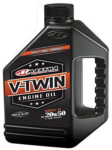 Maxima Racing Oils 30-069128 20w50 V-Twin Mineral Engine Oil - 128 fl. oz.