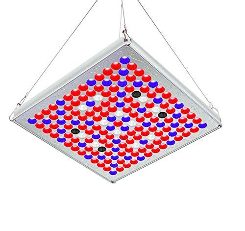 TOPLANET Pflanzenlampe 75W, Upgrade Plant LED-Gartenbau-LED-Gewächshauslampe mit IR blauroter Innen-/Gewächshaus-/Hydrokultur-/Gewächskastenleuchte