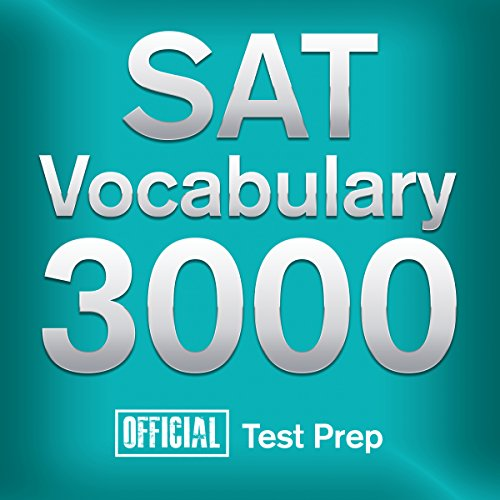 Official SAT Vocabulary 3000 audiobook cover art