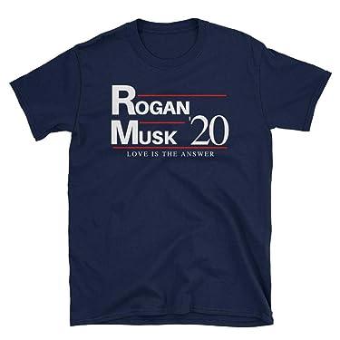 Joe Rogan Elon Musk 2020 Shirt Love is The Answer T-Shirt