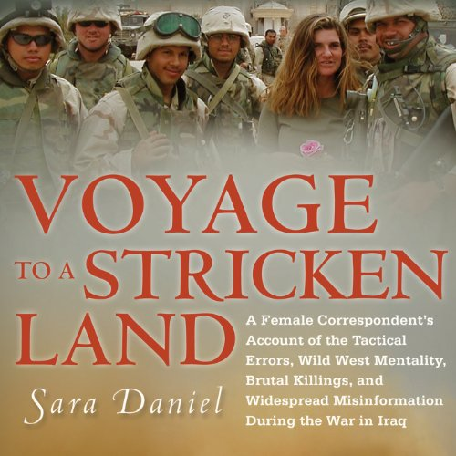 Voyage to a Stricken Land audiobook cover art