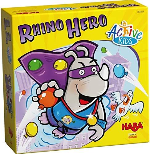HABA- Rhino Hero – Active Kids, 303413
