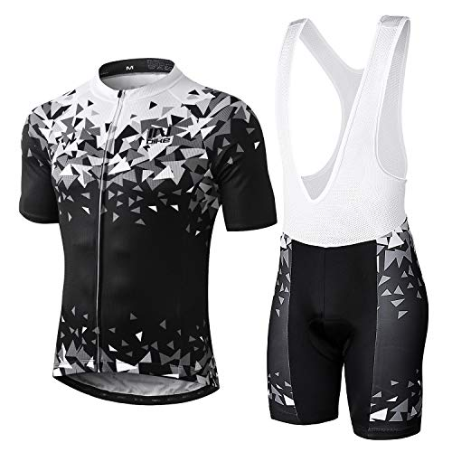 INBIKE Ropa Ciclismo Hombre Verano Trajes de Ciclismo Equipacion Bicicleta Maillot MTB+...