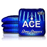 Show Stoppers – Blue (Set of 4 Bags) – ACL Pro Stamped - Professional Dual Sided Cornhole Bags