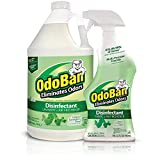OdoBan Ready-to-Use 32 oz Spray Bottle & 1 Gal Concentrate, Eucalyptus...