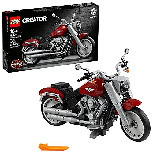LEGO Creator - Harley Davidson Fat Boy, Maqueta para Montar Coleccionable de...