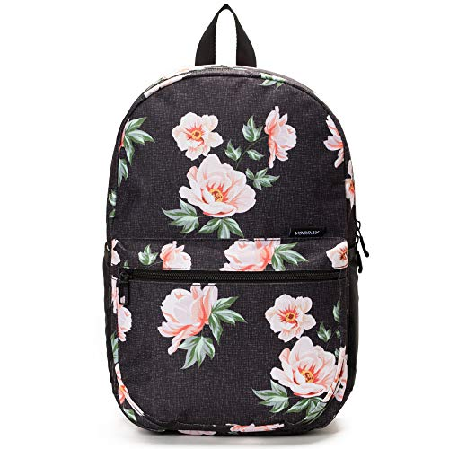 Vooray ACE Backpack - Classic backpack/School Rucksack (Rose Black) - Discontinued Model