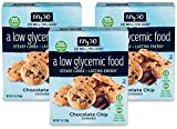 Fifty50 Foods Low Glycemic Kosher Chocolate Chip Cookies, 7 Ounce (Pack of 3)