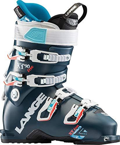 Lange dames skischoenen XT Free 90 W (petrol) - maat 43 - zwart