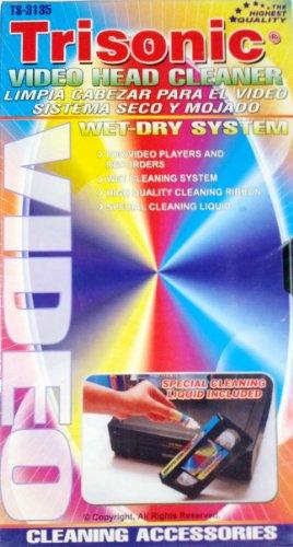 VHS VCR Video Head Cleaner: Cass...