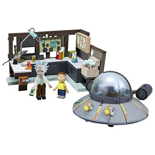 McFarlane Nave Espacial y Garaje Set de construccion Rick & Morty, Multicolor, Large (12884-0)