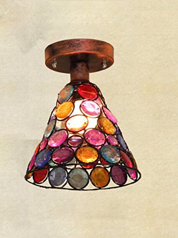 WENYAO Romantischer künstlerischer Café Prinzessin-Deckenlampengang Nepals Hirten
