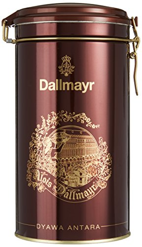 Dallmayr Kaffee Dose Dyawa Antara dunkellrot, für 500g Filterkaffee, Schmuckdose (1 x 0,5 kg)