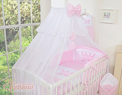 New 11pcs Bedding Set ONLY - Little Princess Pink Baby Bedding Set, Canopy,...