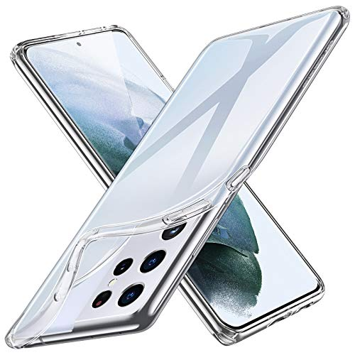 ESR Funda Transparente Compatible con Samsung Galaxy S21 Ultra 5G (6.8Pulgadas) (2021)...