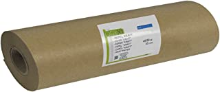 Rollo de Papel Kraft 45/50 Gramos (Rollo 30 cm. x 45 Metros) Color marrón.